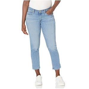Levi's Boyfriend Copain Crop Mid-Rise Jeans